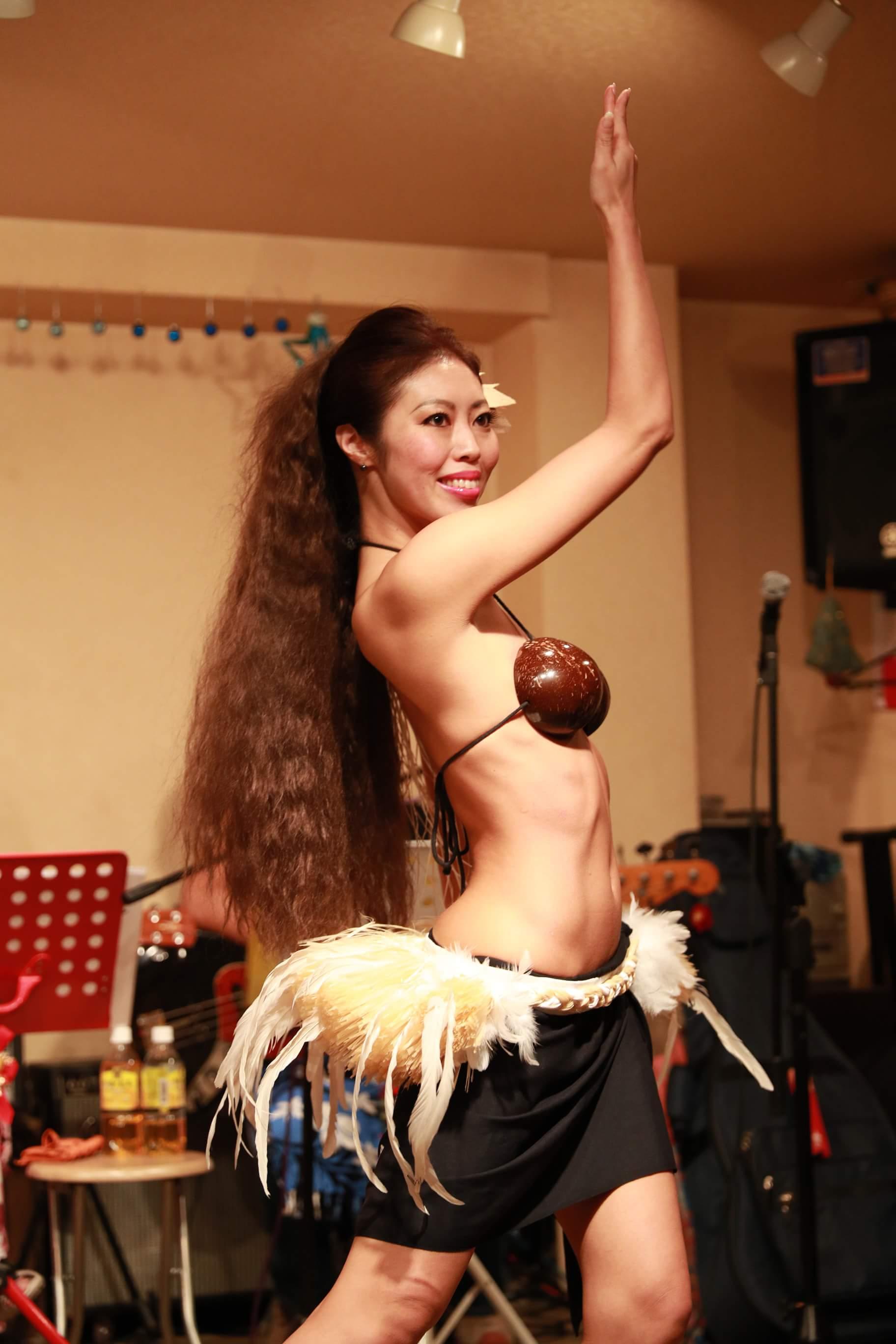 タヒチアンダンス発表会